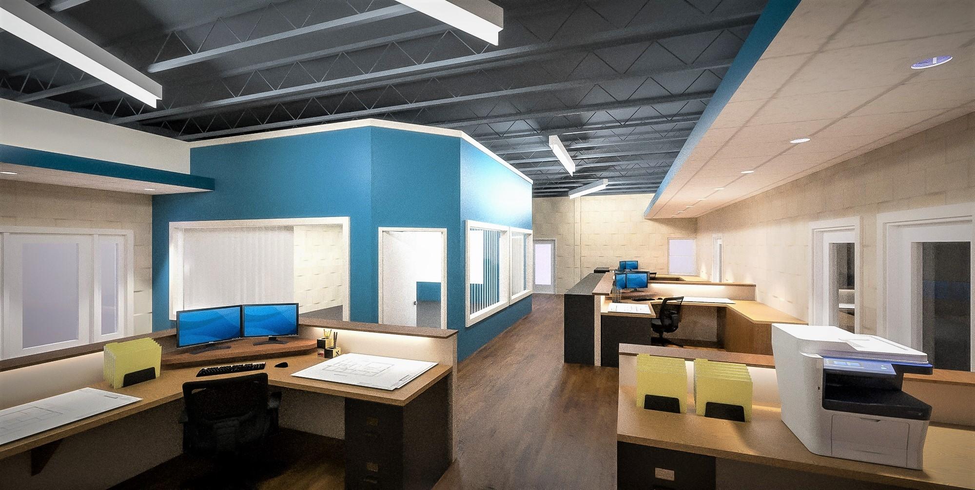 Interior Office Rendering
