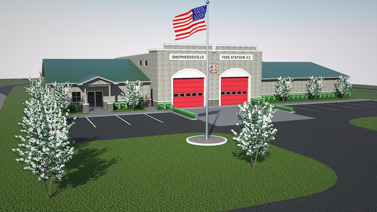 Shepherdsville Fire Station #2- Shepherdsville, Kentucky